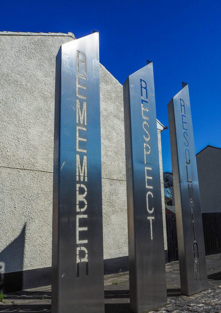 Mémorial à Belfast- Un week-end à Belfast: conseils pratiques et bonnes adresses pour un week-end réussi de quelques jours en Irlande du Nord