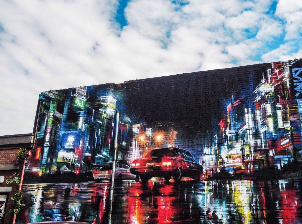 Street art dans le quartier de la Cathédrale à Belfast - Un week-end à Belfast: conseils pratiques et bonnes adresses pour un week-end réussi de quelques jours en Irlande du Nord