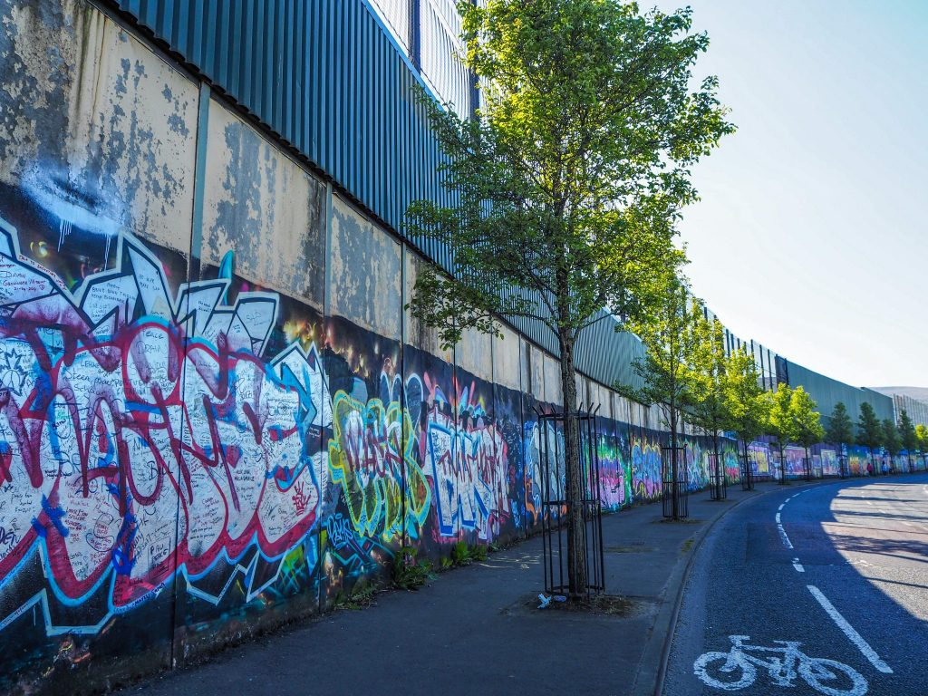 Le Mur de la Paix à Belfast- Un week-end à Belfast: conseils pratiques et bonnes adresses pour un week-end réussi de quelques jours en Irlande du Nord