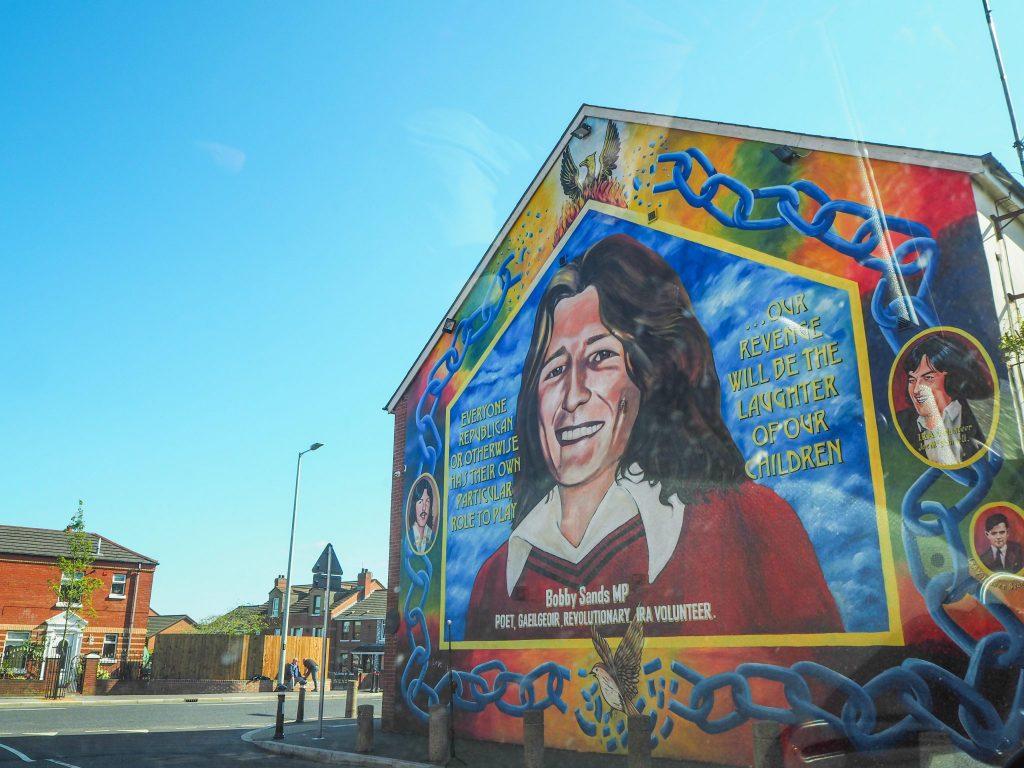 Fresques à Belfast- Un week-end à Belfast: conseils pratiques et bonnes adresses pour un week-end réussi de quelques jours en Irlande du Nord