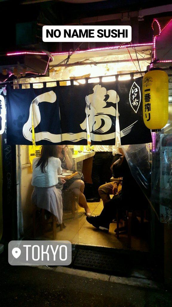 Sushis pas chers à Tokyo