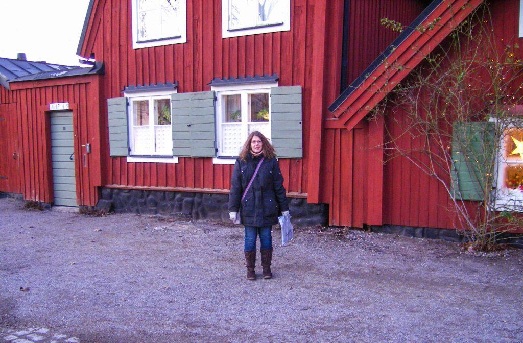 Photo prise par un inconnue à Södermalm, lors de mon premier voyage en solo à Stockholm, Suède
