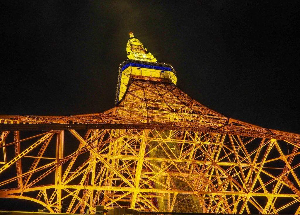 Tokyo Tower de nuit