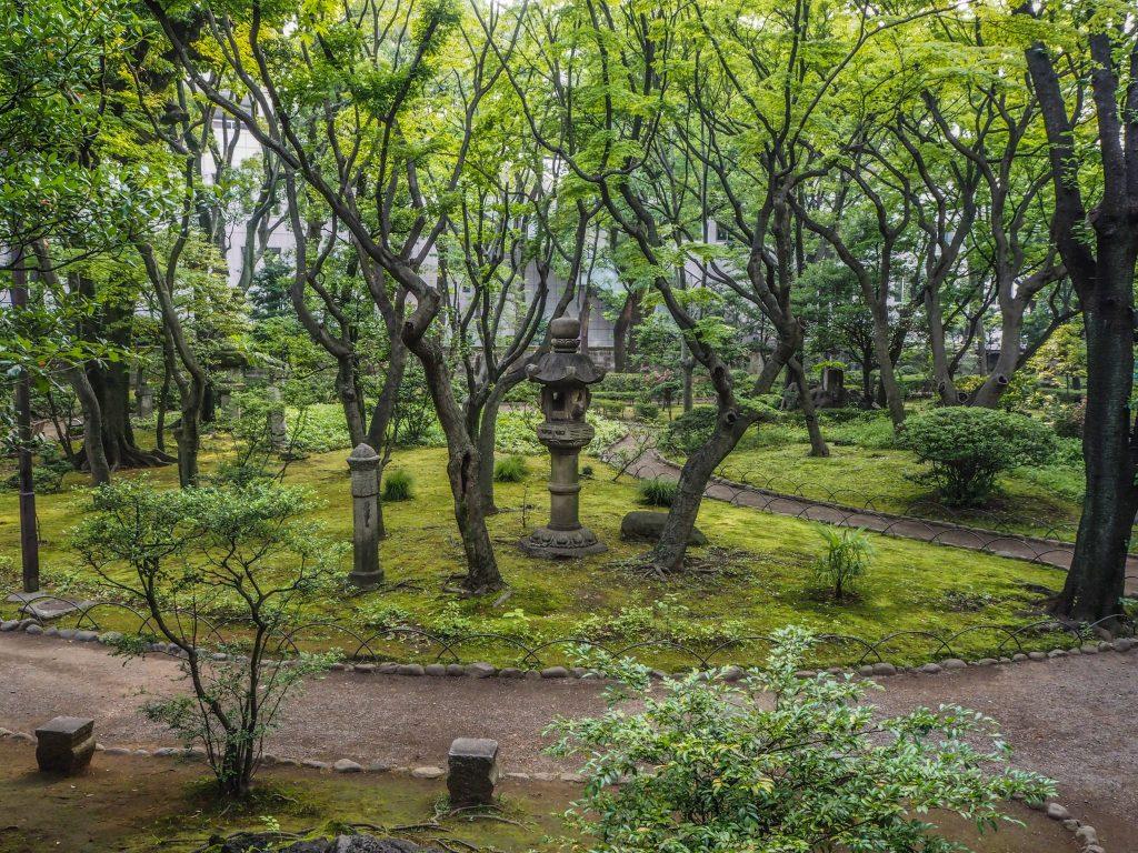 Takahashikorekiyoo Memorial Park à Akasaka Tokyo