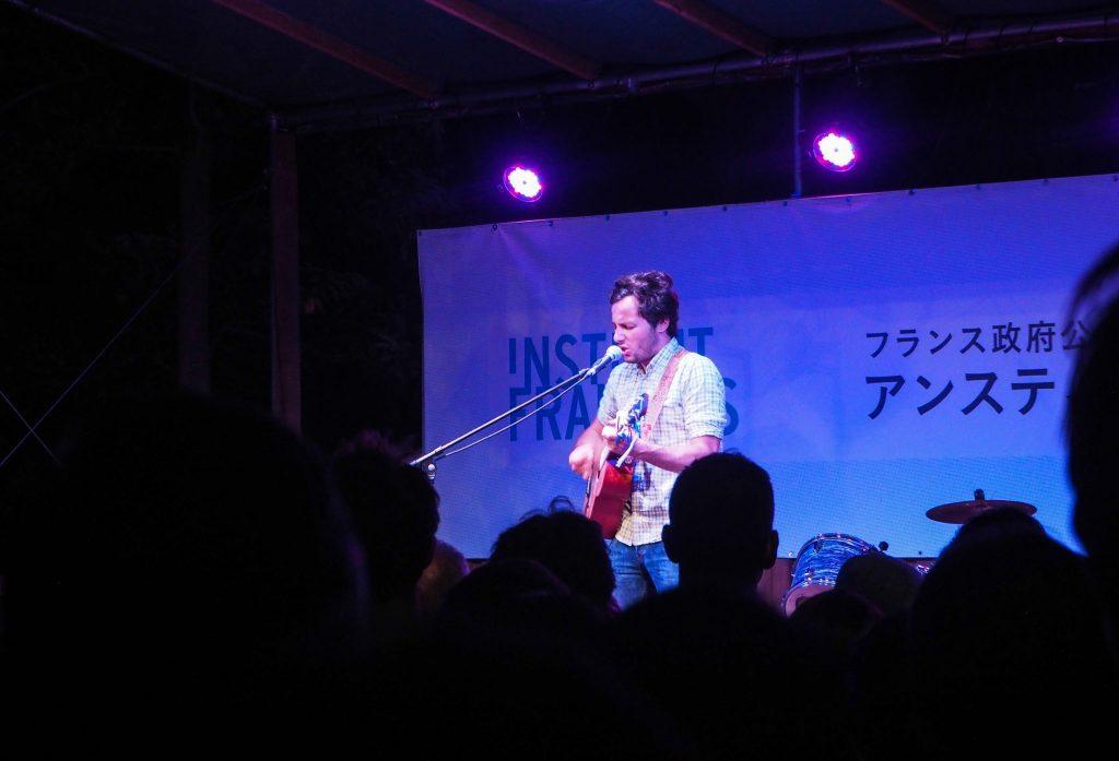 Concert gratuit de Vianney à l'Institut Français de Tokyo pour la Fête de la Musique