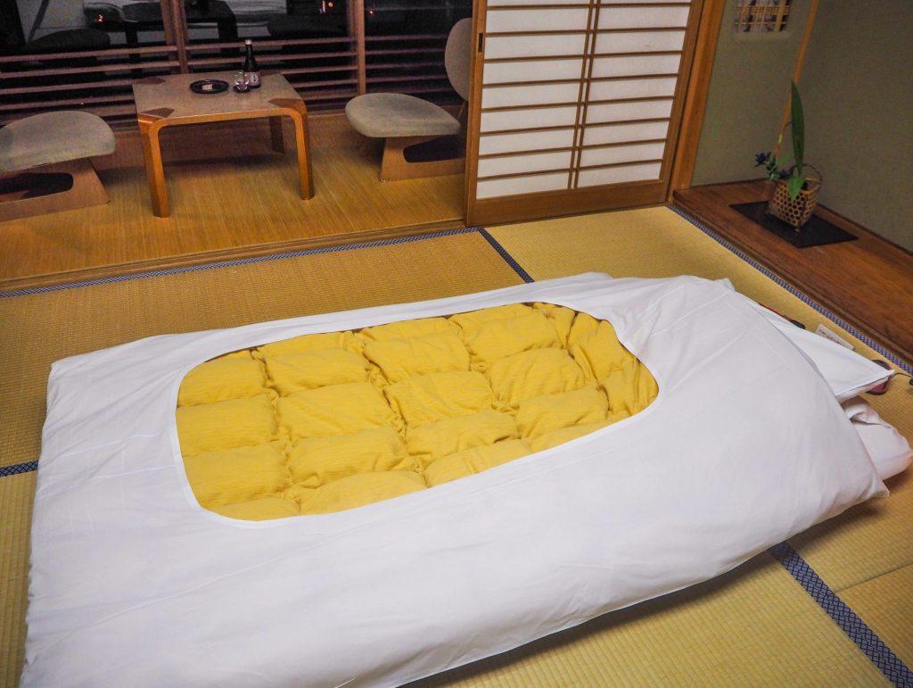 Chambre de ryokan - Vivre l'expérience du ryokan et de l'onsen à Kinosaki : Nishimuraya Honkan