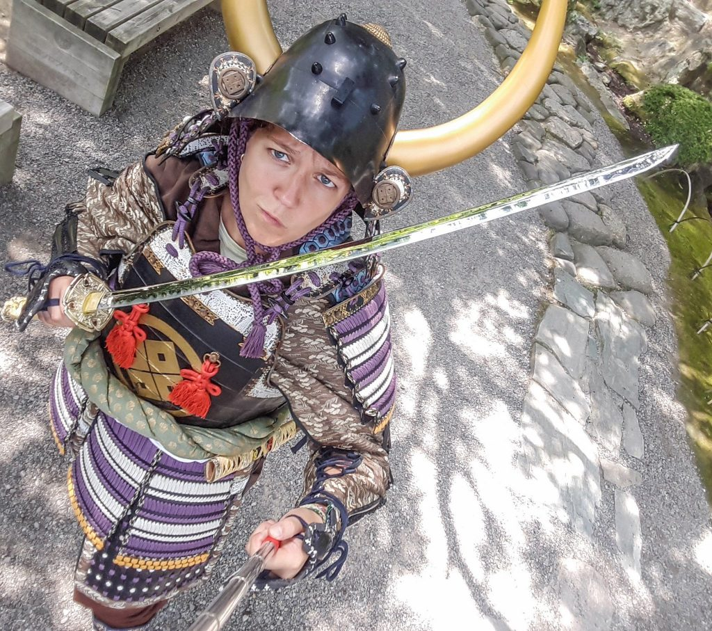Voyages et Vagabondages en mode samurai à Wakayama, Japon