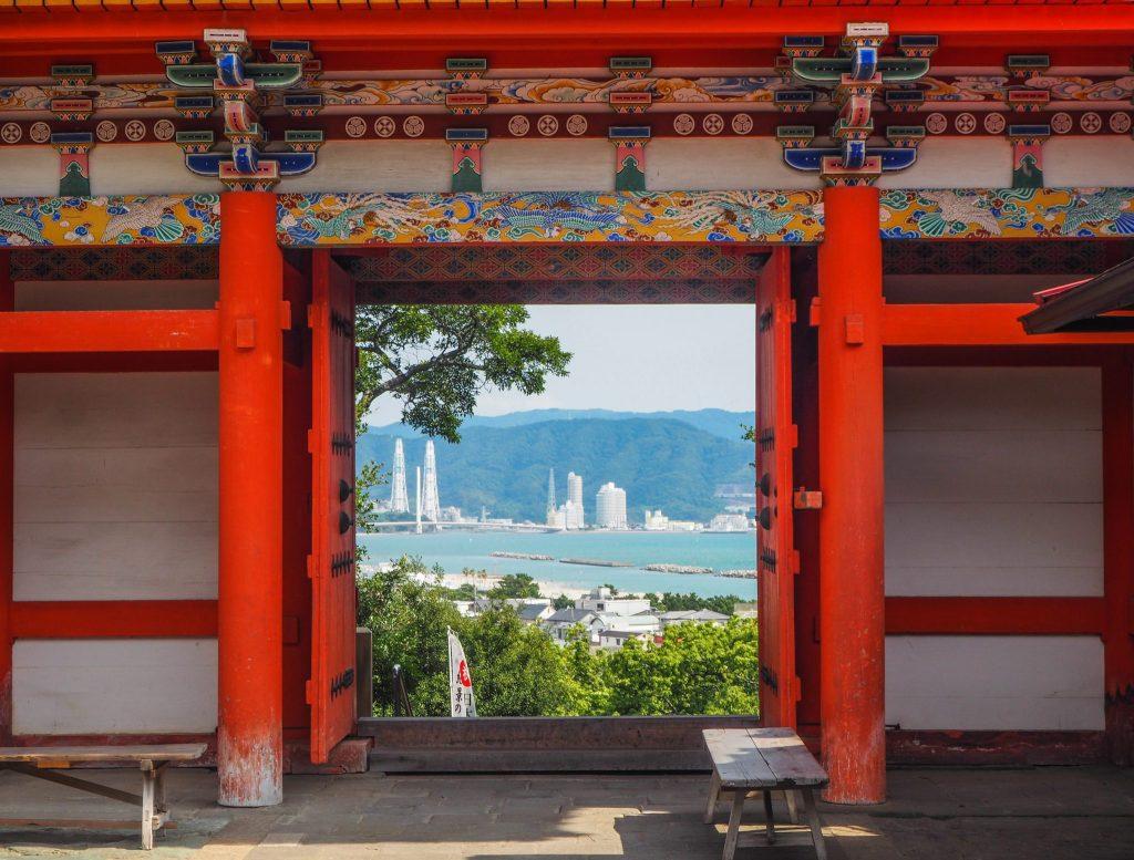Temple Tosho-gu à Wakayama lors d'un voyage au Japon authentique en mode slow travel