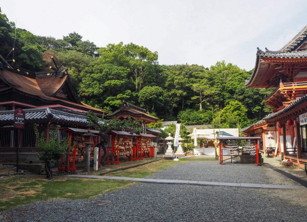 Temple Tenman-gu à Wakayama lors d'un voyage au Japon authentique en mode slow travel