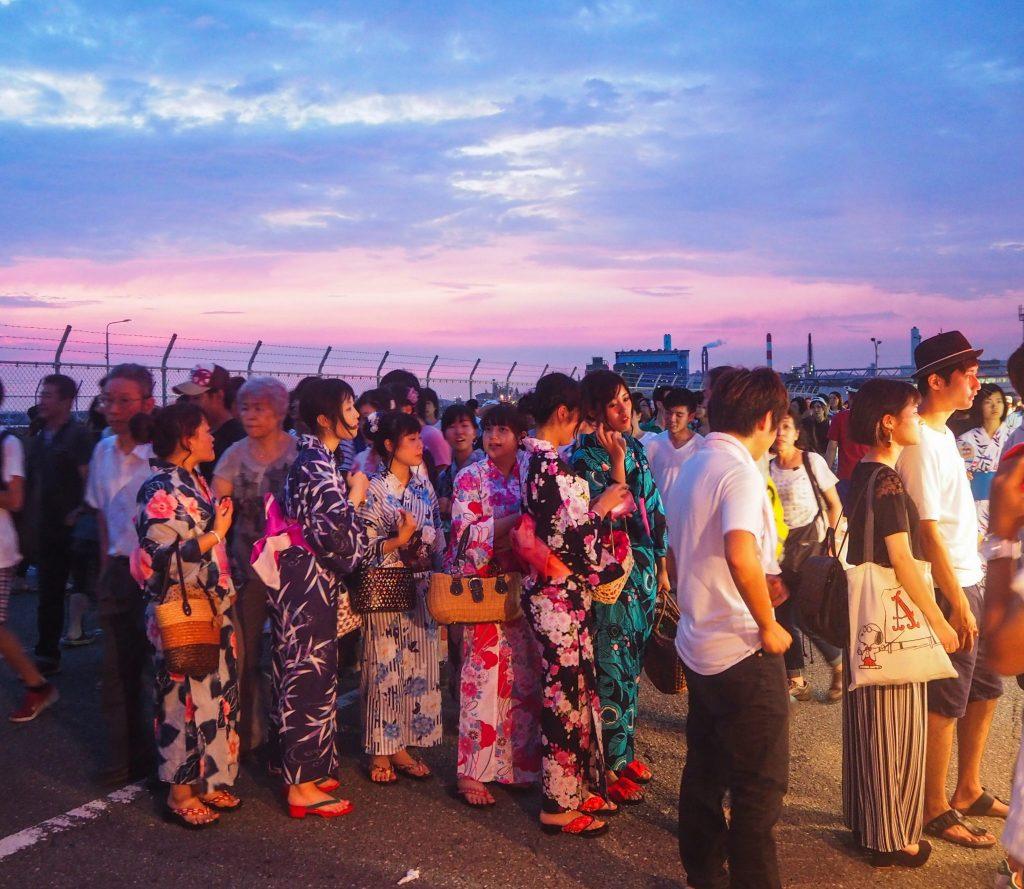 Festival Hanabi à Wakayama