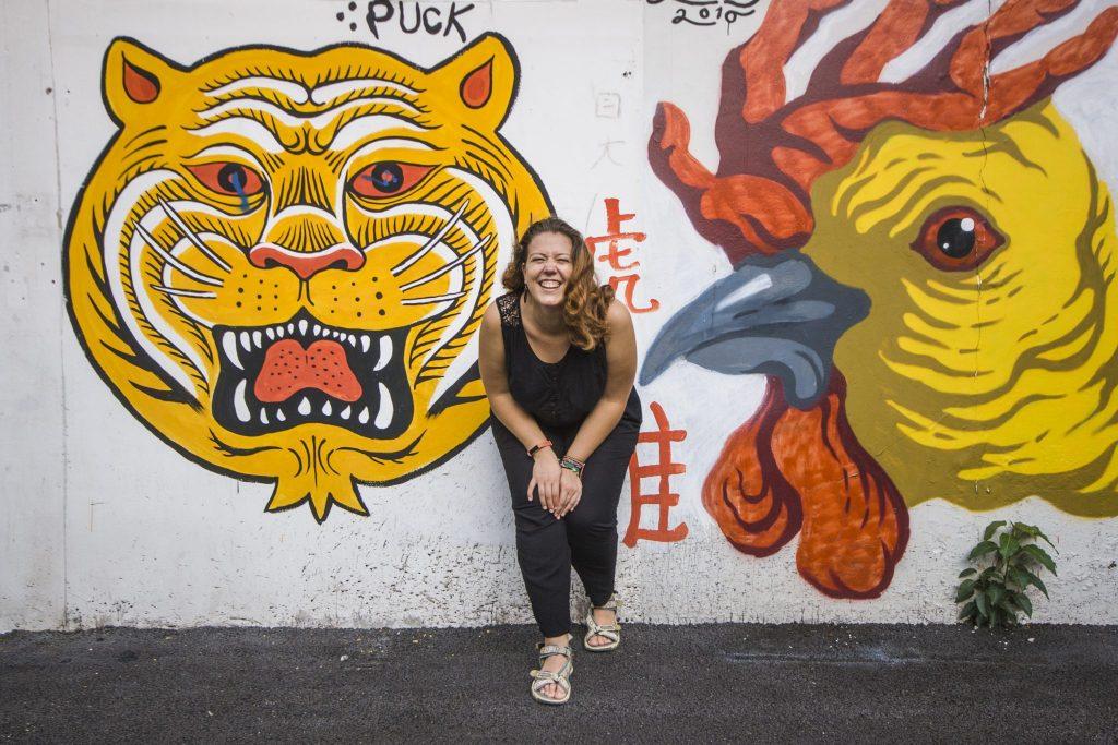 Lucie à Chinatown - voyage Bangkok - Bilan mensuel 2017