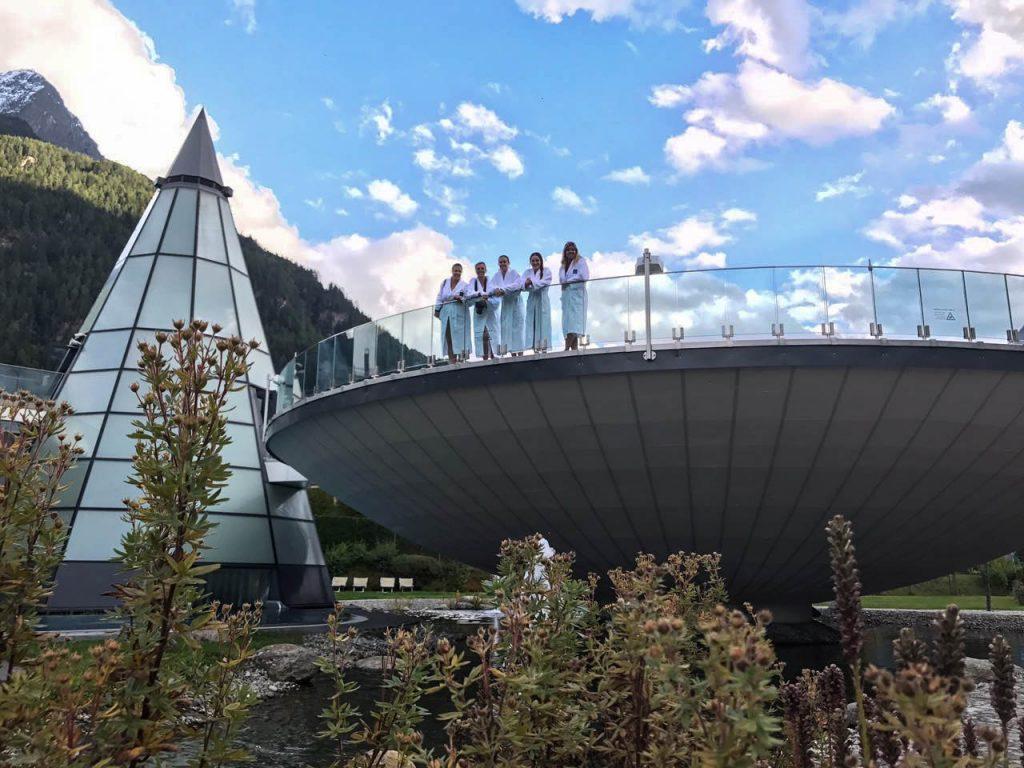 L'Aquadome, un spa à découvrir dans la vallée d'Ötztal - Un voyage en Autriche d'aventure et d'adrénaline: repousser et tester ses limites au tyrol