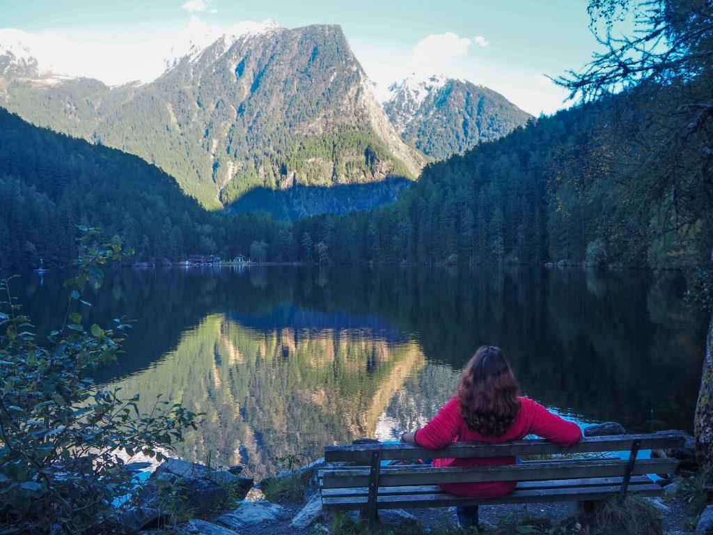 Lac Piburger See dans la vallée d'Ötztal - Un voyage en Autriche d'aventure et d'adrénaline: repousser et tester ses limites au tyrol