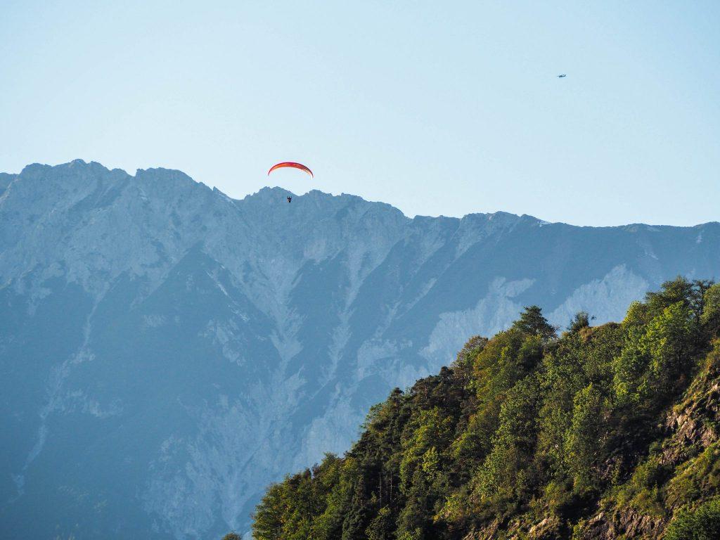 Parapente dans la vallée d'Ötztal - Un voyage en Autriche d'aventure et d'adrénaline: repousser et tester ses limites au tyrol