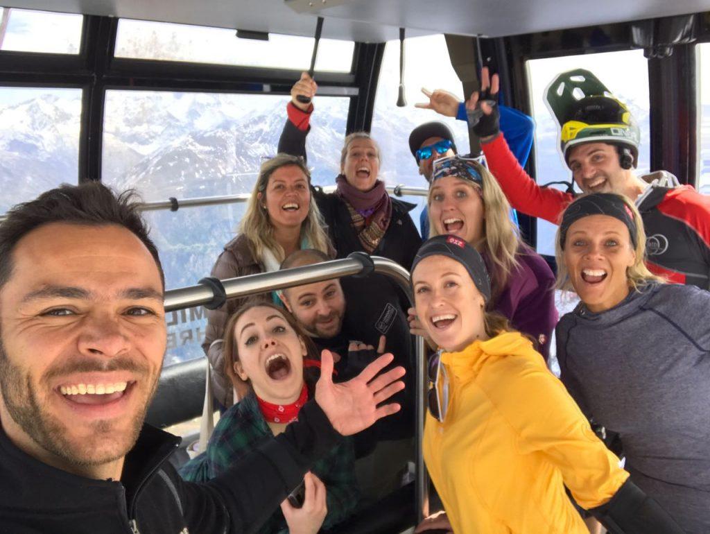 Une troupe de blogueurs en Autriche