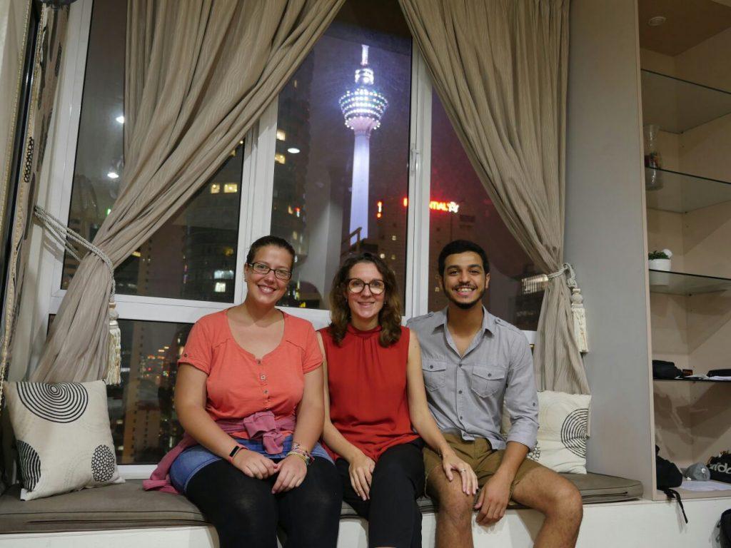 Kuala Lumpur avec Pauline et Mohammed - bilan mensuel octobre 2017