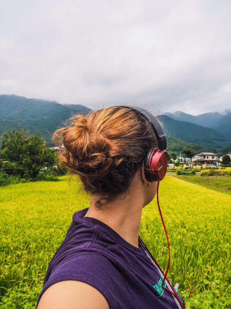 My first audiobook on a trip to Japan - Listen to audiobooks on the go, the perfect way to immerse yourself in soft reading and for an immersive and literary journey
