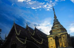 Temple à Chiang Mai, Thaïlande - bilan mensuel octobre 2017