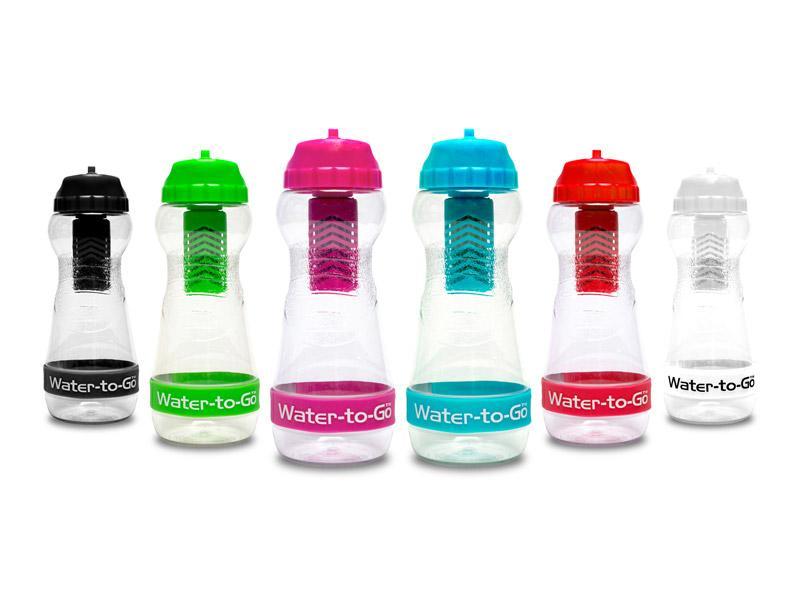 Bouteille d'eau filtrante et son filtre pour ne plus acheter de bouteille d'eau en plastique en voyage
