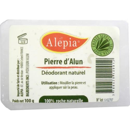 Pierre d'alun, le déodorant idéal en voyage