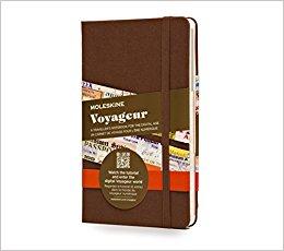 Un carnet Moleskine pour les voyageurs