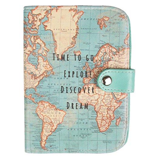 Protège-passeport pour grand voyageur