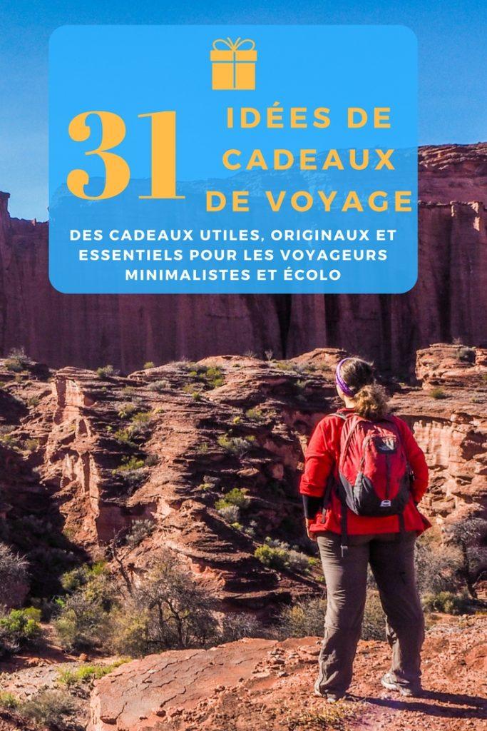 Le guide complet de toutes les idées de cadeaux de voyage utiles, originaux, essentiels, minimalistes et écolo pour tous les voyageurs et voyageuses