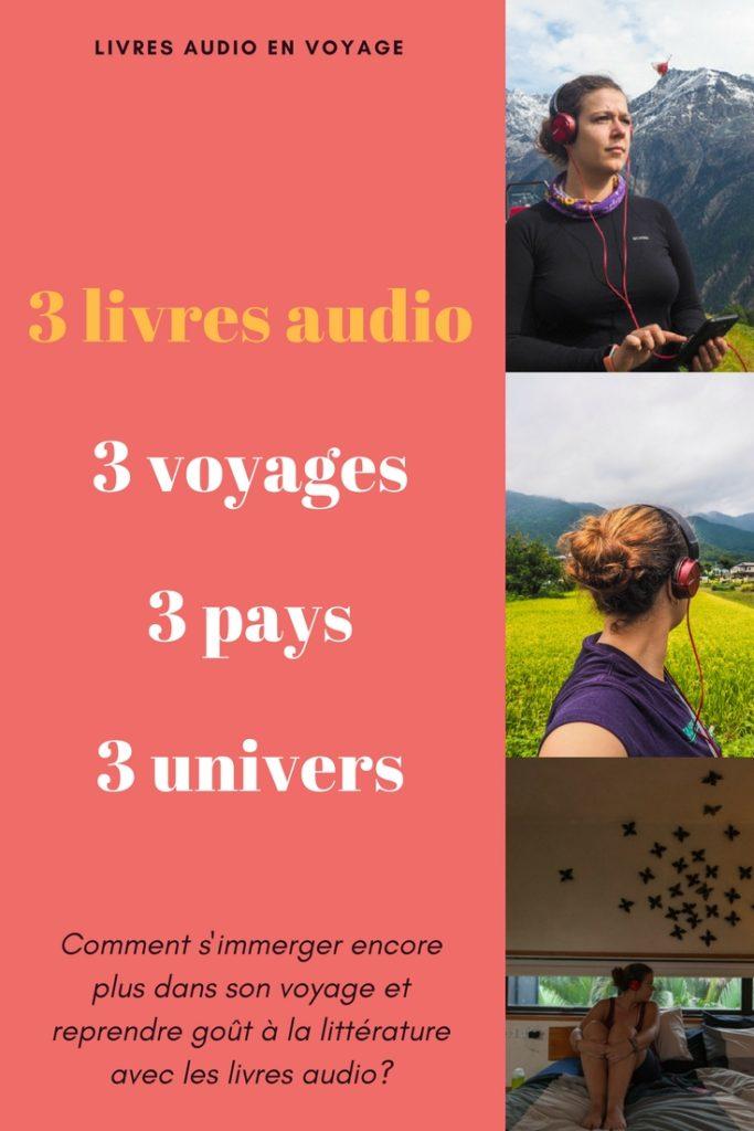 Livre audio en voyage - Ecouter des livres audio en voyage, la solution idéale pour se replonger dans la lecture en douceur et pour un voyage immersif et littéraire