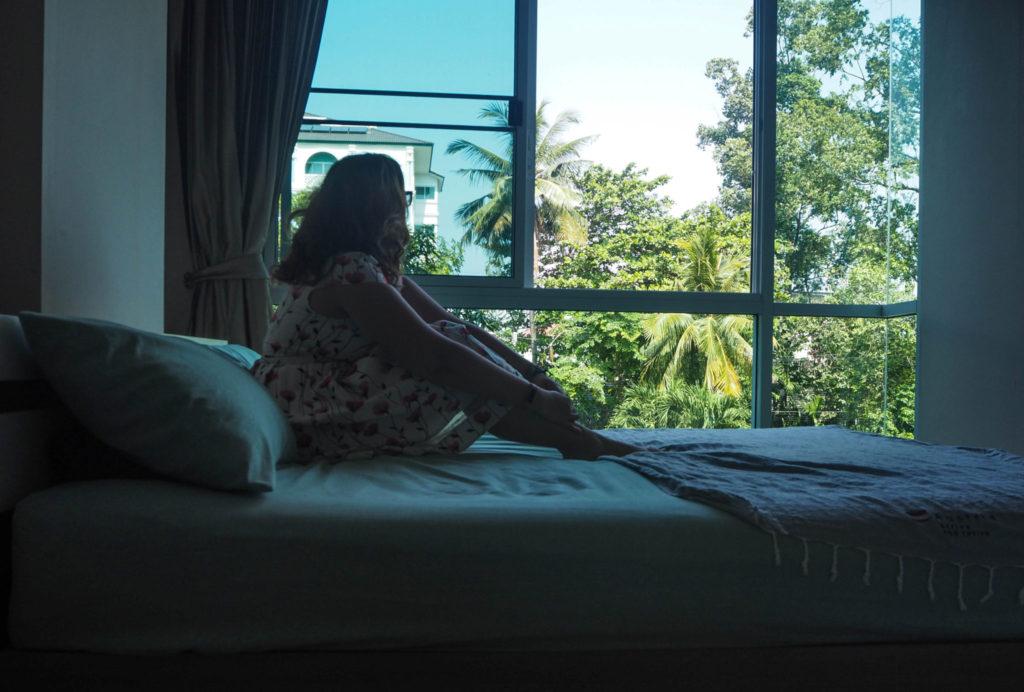Besoin d'une pause dans le rythme de vie fou de ma vie de nomade, j'ai loué un appartement à Chiang Mai en Thaïlande