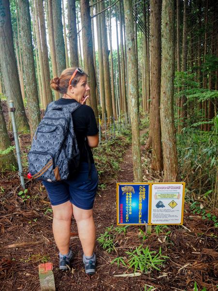 Clochette anti-ours pour randonner au Japon