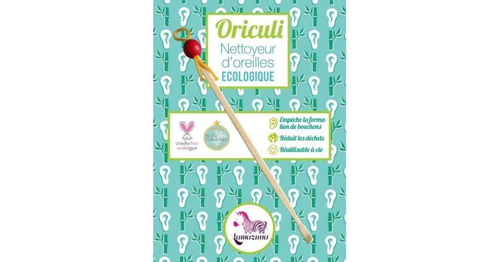 Oriculi, le nettoyeur d'oreille écologique