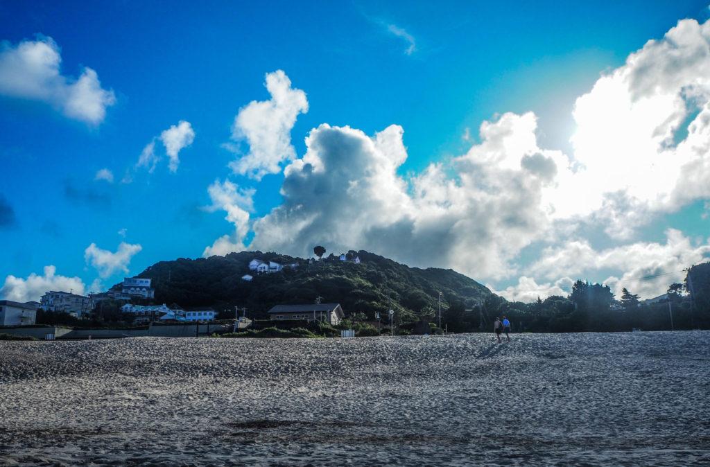 Plage de Shirahama à Shimoda - L'autre Japon sur la Péninsule d'Izu au Japon