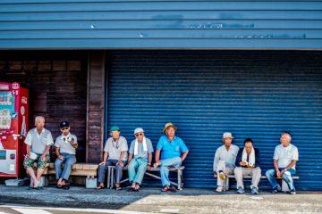 L'autre Japon sur la Péninsule d'Izu au Japon - Scène de rue à Inatori