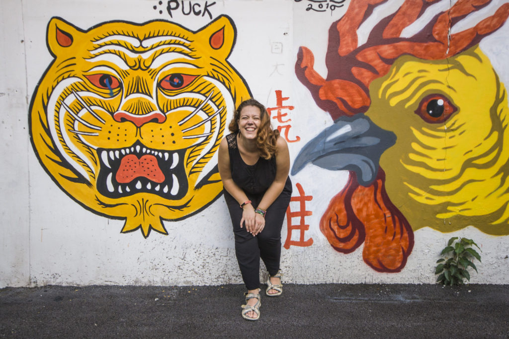 Street Art à Chinatown à Bangkok - Visiter Bangkok: le guide pratique complet pour un premier voyage en Thaïlande et à Bangkok