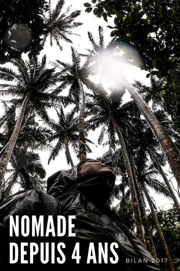 Je suis nomade depuis 4 ans. Bilan voyage 2017 et bilan de 4 années de nomadisme. Un bilan en demi-teinte après 4 ans sur les routes du monde. Pas facile de trouver son équilibre entre travail, voyage, vie nomade, vie sociale, famille, hobbys, etc. Une année à la découverte de seulement six pays et seulement deux nouveaux! J'ai enfin adopté le slow travel ! #voyage #bilan #bilan2017 #2018 #vienomade #nomadisme #nomade #nomadedigital #slowtravel #voyagelent #pvt #japon #thaiïlande #europe