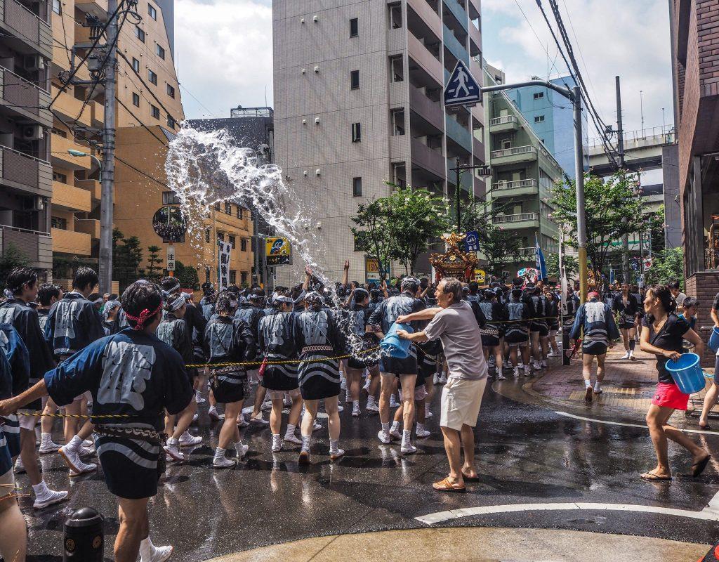 Bataille d'eau géante à Tokyo - Bilan voyage 2017