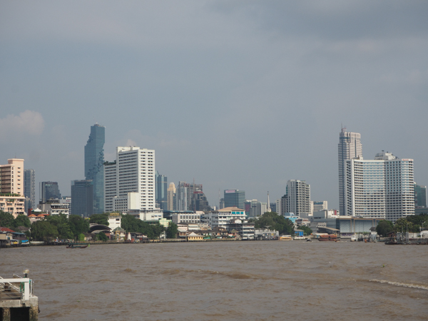 Fleuve Chao Phraya Et Tour MahaNakhon Bangkok