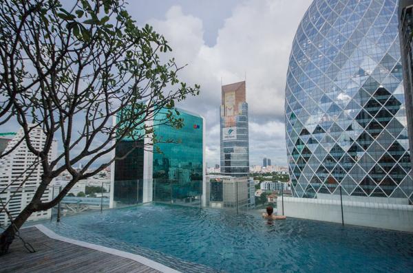 Un appartement avec piscine à Bangkok - Visiter Bangkok: le guide pratique complet pour un premier voyage en Thaïlande et à Bangkok