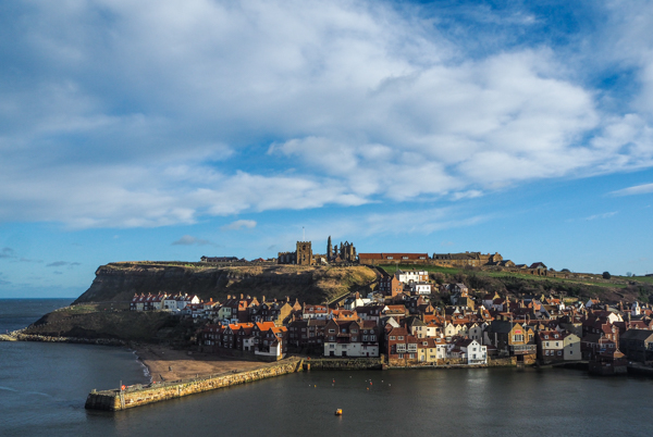Winter Walk in Whitby, England - Trips and Wanderings over Months - Monthly Review January 2018