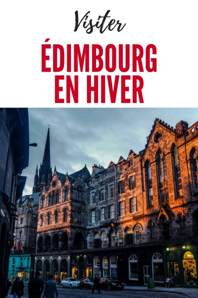 Visiter Edimbourg en hiver - Un week-end dans la capitale écossaise: visiter Edimbourg en mode slow travel / que faire en cas de pluie Edimbourg et sur les traces d'Harry Potter à Edimbourg.