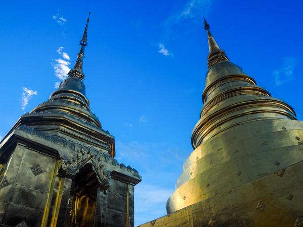 Temples de Chiang Mai - Visiter Chiang Mai : le guide pratique ultime du voyage lent et nomade à Chiang Mai en Thaïlande