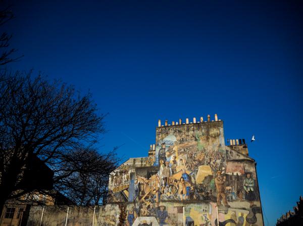 Banlieue de Leith à Edimbourg - Visiter Edimbourg en hiver - Un week-end dans la capitale écossaise: visiter Edimbourg en mode slow travel / que faire en cas de pluie Edimbourg et sur les traces d'Harry Potter à Edimbourg.
