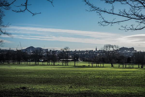 Parc Inverleith à Edimbourg - Visiter Edimbourg en hiver - Un week-end dans la capitale écossaise: visiter Edimbourg en mode slow travel / que faire en cas de pluie Edimbourg et sur les traces d'Harry Potter à Edimbourg.