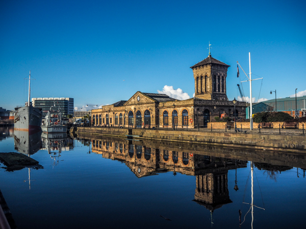 Quartier des docks à Leith à Edimbourg - Visiter Edimbourg en hiver - Un week-end dans la capitale écossaise: visiter Edimbourg en mode slow travel / que faire en cas de pluie Edimbourg et sur les traces d'Harry Potter à Edimbourg.