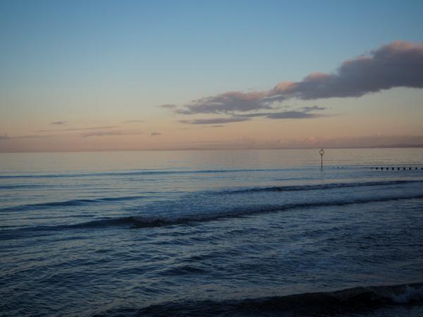 Promenade sur la plage à Portobello à Edimbourg - Visiter Edimbourg en hiver - Un week-end dans la capitale écossaise: visiter Edimbourg en mode slow travel / que faire en cas de pluie Edimbourg et sur les traces d'Harry Potter à Edimbourg.