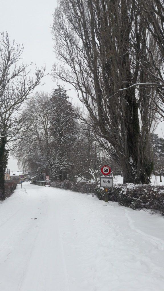 La Suisse sous la neige - Bilan mensuel de voyage en Suisse, en Allemagne et en France - Voyages et Vagabondages