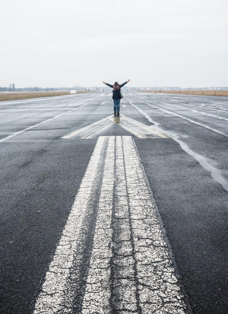 Tempelhof à Berlin - Bilan mensuel de voyage en Suisse, en Allemagne et en France - Voyages et Vagabondages