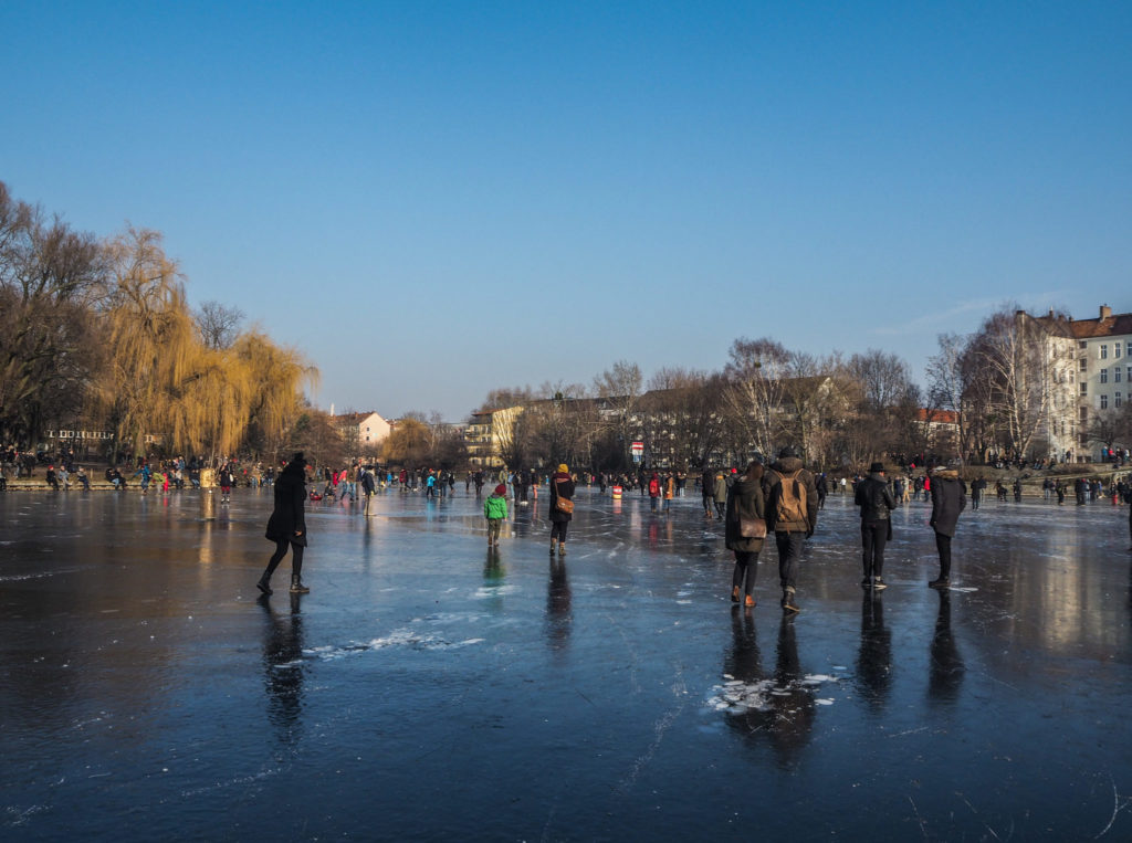Berlin gelé en mars 2018 - L'hiver à Berlin - Bilan mensuel de voyage en Suisse, en Allemagne et en France - Voyages et Vagabondages