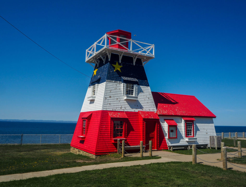 Arrivée en Acadie et à Grande Anse - Itinéraire de road-trip au Canada - 15 jours entre le Bas Saint-Laurent, la Gaspésie et le Nouveau-Brunswick