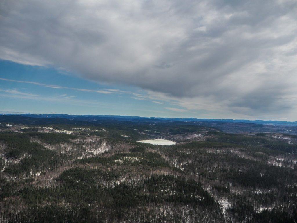Tour d'hélicoptère au-dessus du Fjord du Saguenay - Visiter la région du Saguenay Lac Saint-Jean